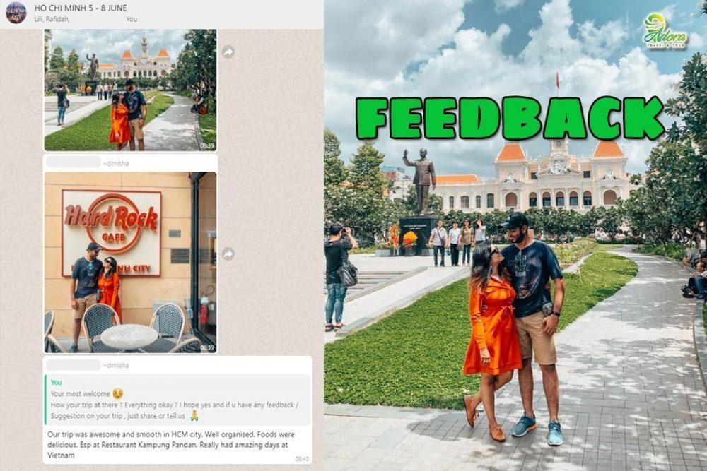 Pakej Hochiminh vietnam - Feedback02