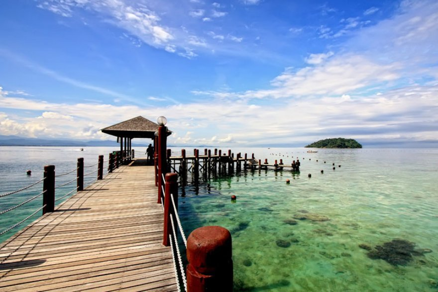 gambar-gambar pulau manukan