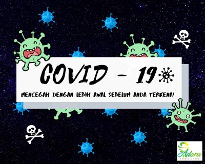 Tips Mencegah Coronavirus - Covid19